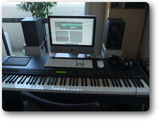 Apple Logic Pro&YAMAHA CP-300